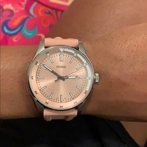 Mauve fossil watch